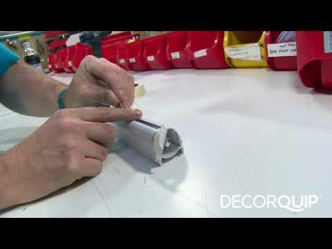 How to safely cut a Roman Blind headrail