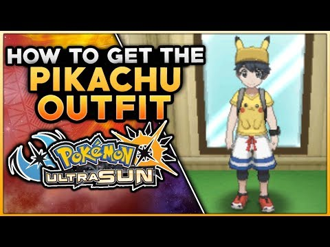 How To Get The Pikachu Outfit In Pokemon Ultra Sun & Ultra Moon