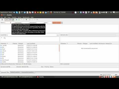 how to install and test an FTP server in linux - the linux file system