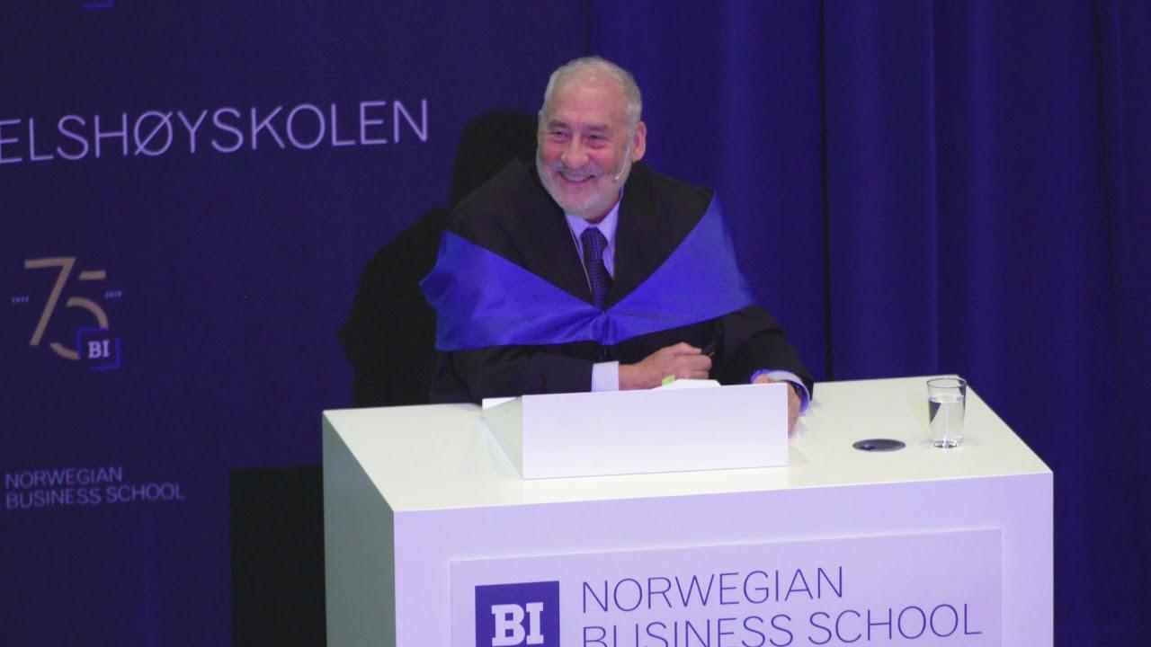 How Did China Succeed? | Joseph E. Stiglitz | BI Norwegian Business School