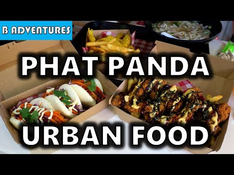 Modern Asian Street Food, Phat Panda Australia