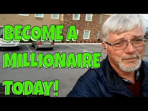 Become a millionaire washing windows !