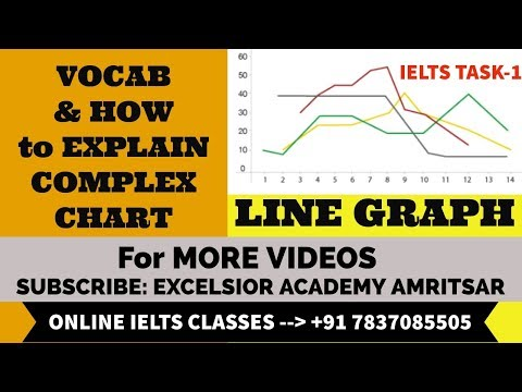 MULTIPLE LINE GRAPH VOCAB & EXPLANATION in English+Punjabi mix by EIEC-Excelsior, Amritsar