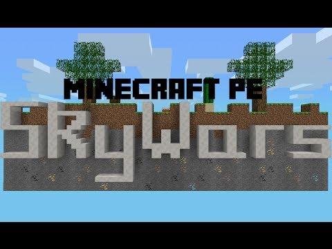 Minecraft PE Mini-Games SkyWars Server [0.8.1]