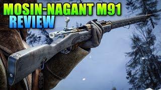 Mosin-Nagant M91 Unlock & Review | Battlefield 1