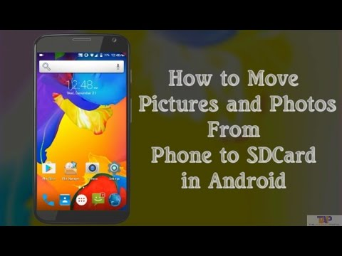 How To Move Pictures From Phone To SD Card on Android