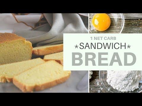 KETO CONNECT Bread   1 NET CARB   WHITE BREAD   LCHF   PALEO #ketobread   #almondflourrecipe