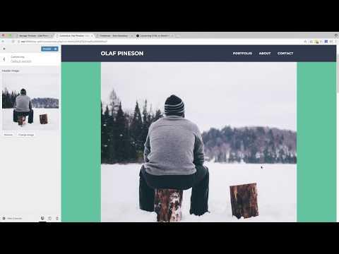 3. The Header - Create a Portfolio WordPress Theme - Tutorial