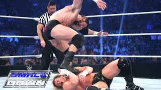 Dolph Ziggler vs. Bad News Barrett – Royal Rumble Qualifying Match: SmackDown, January 22, 2015