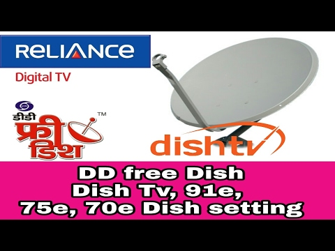 DD free dish, Dish Tv, 91e, 75e, 70e, all Dish setting
