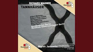 Tannhauser Act Ii Scene 4 Auch Ich Darf Mich So Glucklich Nennen Tannhauser Walther Chorus