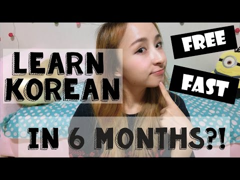 How I learned Korean (Without Classes!)