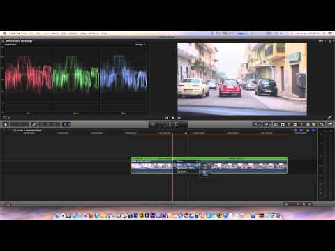 FCPX blade speed and stabilization Final Cut Pro X