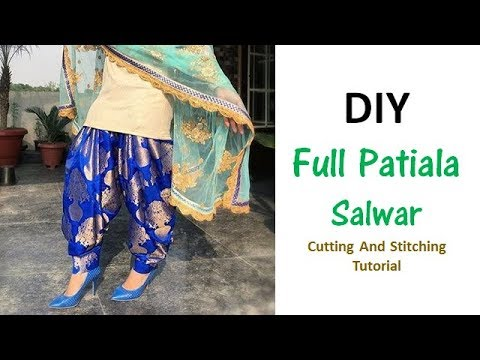 Xxx Mp4 DIY Full Patiala Salwar Cutting And Stitching Full Tutorial 3gp Sex