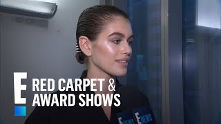 Kaia Gerber Gushes Over Working With Alexander Wang--Again! | E! Red Carpet & Award Shows