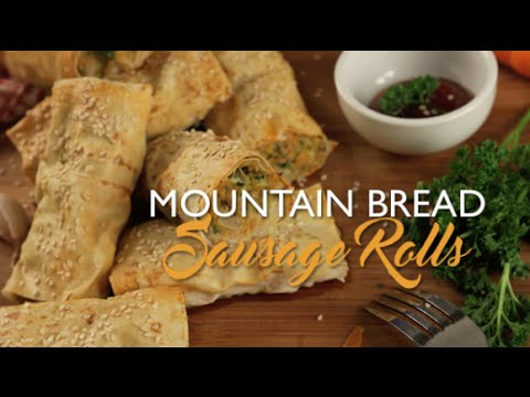 Mountain Bread™ - Sausage Rolls
