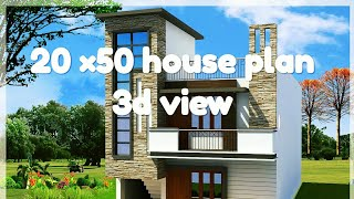 20x50 North Face 2bhk House Plan Explain In Hindi Tube10xnet