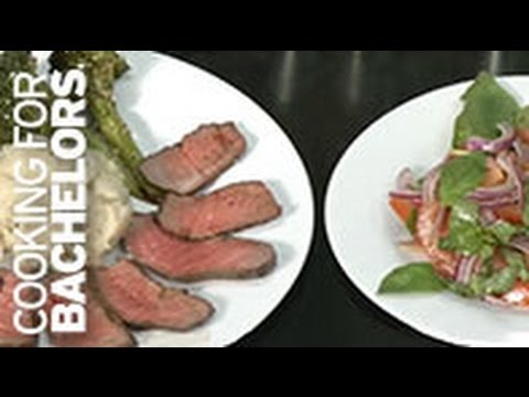 Steak and Potato Dinner by Cooking for Bachelors®