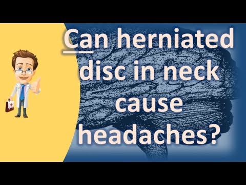 Can herniated disc in neck cause headaches ? | Best Health FAQ Channel