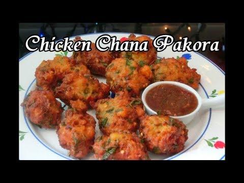 Chicken Chana Pakora