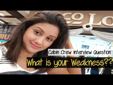 What is your Weakness | Cabin Crew Interview Question | Mamta Sachdeva | Hindi |