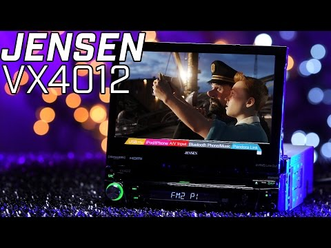 Jensen VX4012 Single DIN Radio with Flip Out Monitor!!! 2016 Review