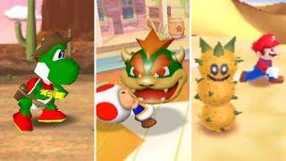 Evolution Of Desert Minigames In Mario Party (1998-2017)