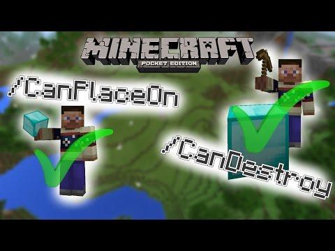 MCPE :: Destroy/Place Blocks in Adventure Mode :: Minecraft Pocket Edition 1.1