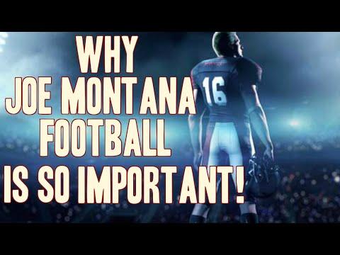 Joe Montana Football and Madden 16: The Importance