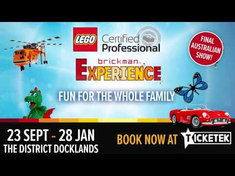 Brickman Experience at The District Docklands