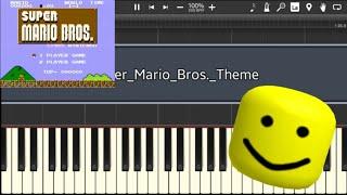 Super Mario Bros Using Roblox Death Sound!!!
