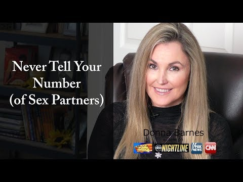 Never Tell Your Number (of Sex Partners)