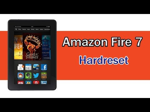 Amazon Fire 7 Tab Hard Reset || Password Reset || Amazon Kindle Fire Tab Factory Reset