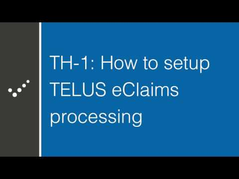 How to setup Practice Perfect for TELUS Health eClaims processing (Part 1)