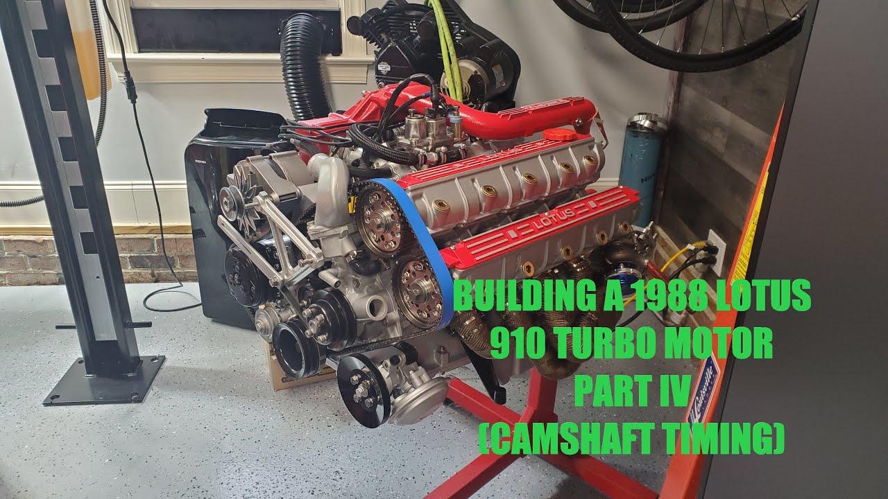 Lotus Esprit 910 Turbo Engine Build - Part IV