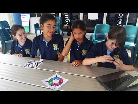 Students in the Torres Strait sharing their experiences with robotics