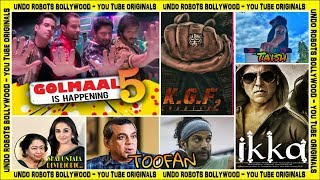 Upcoming Film - KGF Chapter II | Toofan | Golmaal 5 | Taish | Shakuntala Devi Biopic | Ikka