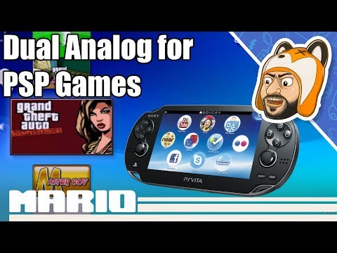 How to Install PSP Remastered Controls for PS Vita/PSTV | Dual Analog Adrenaline Plugins!