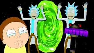 VR Rick and Morty - THE FINAL TASK!