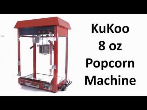 KuKoo Popcorn Machine by Monster Chef