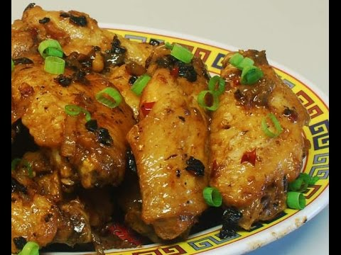 Spicy Chicken Wings with black beans sauce: authentic Chinese cooking