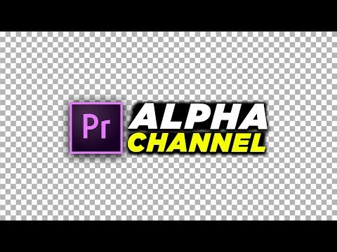 How To Export With a Transparent Background Tutorial in Premiere Pro (Alpha Channel Tutorial 2018)