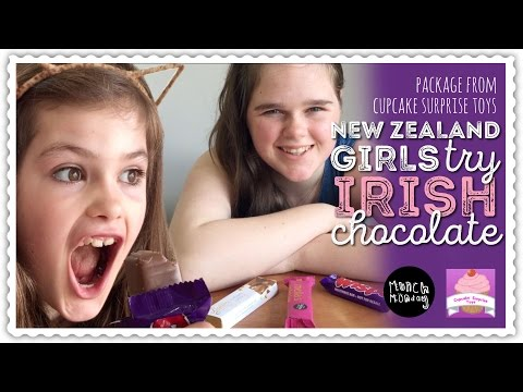 trying Irish Chocolate | package from CupcakeSurpriseToys | P3 (P86)