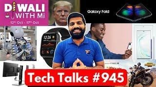 Tech Talks #945 - Samsung W20, Galaxy A91 5G, Xiaomi Mattress, Pixel 4 Leaks, PUBG Helicopter