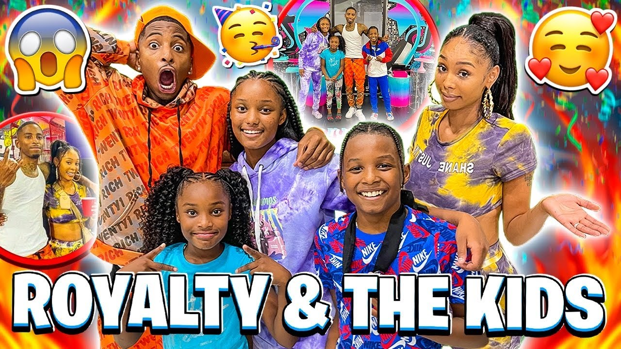 I FINALLY MET ROYALTY & THE KIDS FOR THE FIRST TIME! (THROWING HER DAUGHTER A BIRTHDAY PARTY)