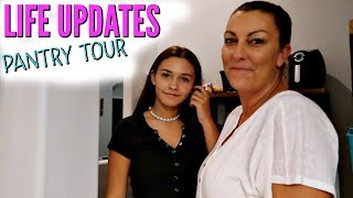 BACK TO SCHOOL UPDATES! PANTRY ORGANIZATION/MAKEOVER/TOUR!