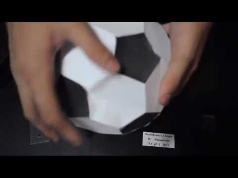 Geometry Polyhedral Paper models guide