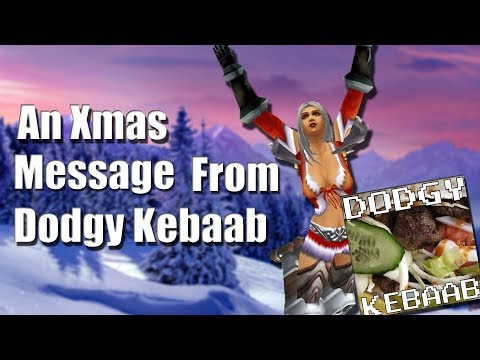 A very short Christmas Message from Dodgy Kebaab