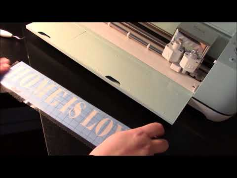 Cricut - Etched Glass tutorial