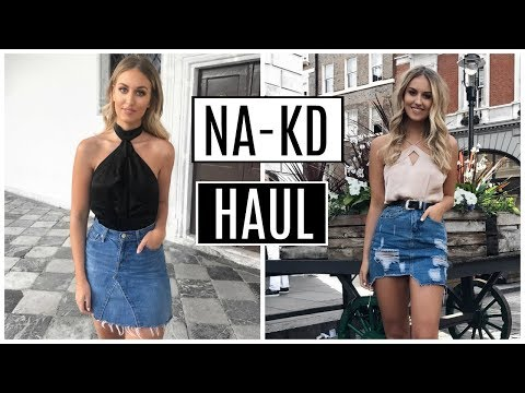 NA-KD TRY ON CLOTHING HAUL